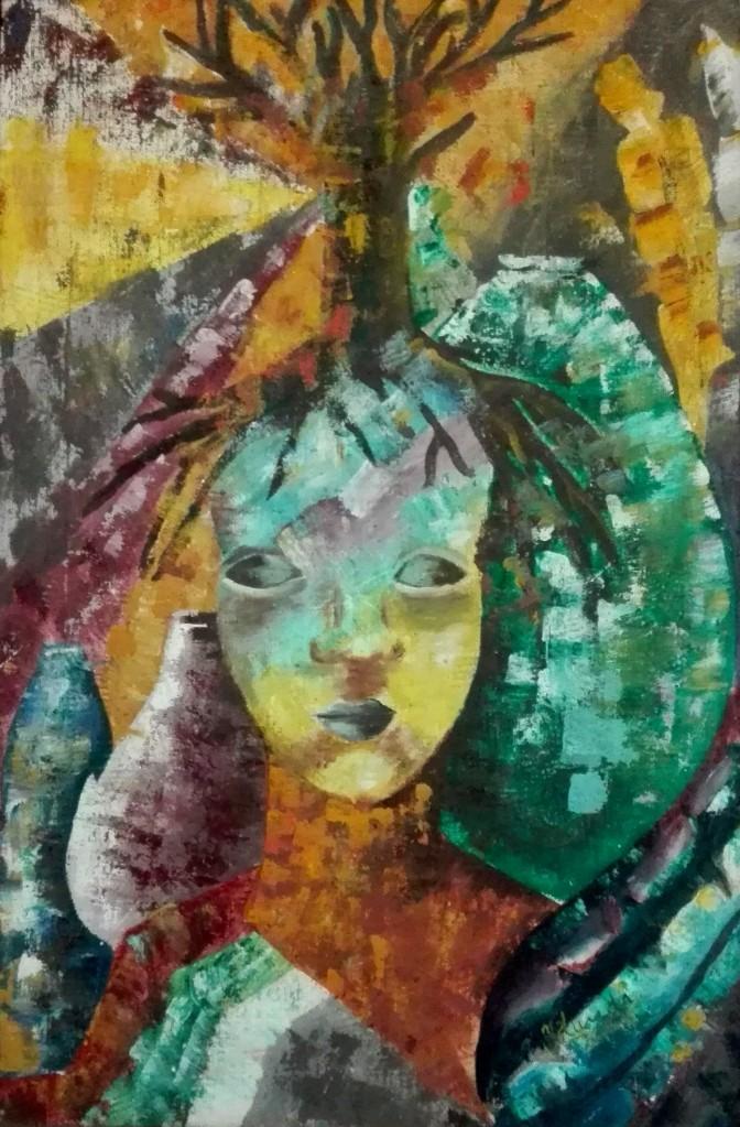 Obra Inicación de Yolanda Corona