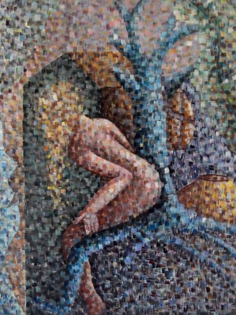 Mis Pájaros, Mis Nidos, obra de Yolanda Corona